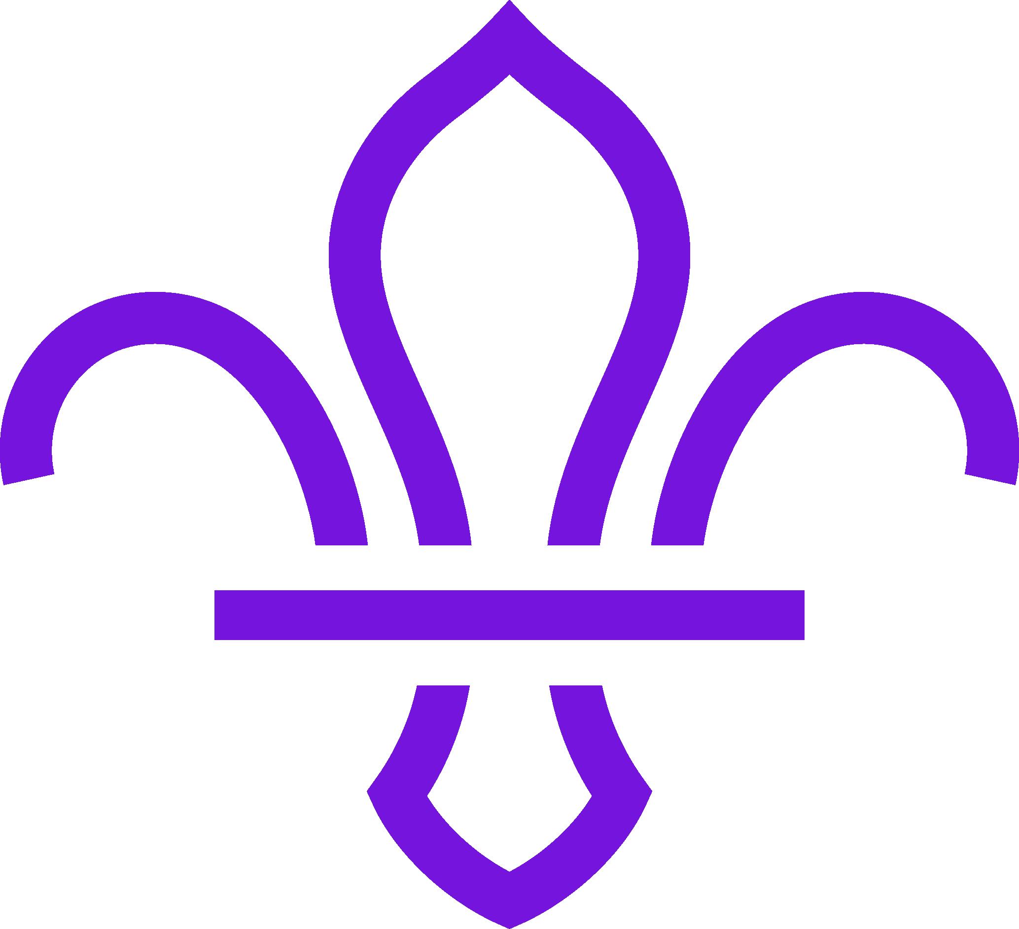 Scouts purple logo